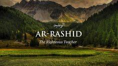 Ar-Rashid Urdu Words With Meaning, Hindi Words, Urdu Love Words, Arabic Words, Rare Words, Powerful Words, Beautiful Names Of Allah, Beautiful Words, Poetic Words