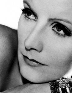 Greta Garbo. beautiful. just look at those lips! they are perfect! to me, that is what perfect lips look like.