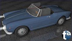 500 - TAEVision 3D Mechanical Design Automotive Fashion NY NYC CITY OF DREAMS 'THE ONE' SYMPHONY AlfaRomeo Giulia Spider GiuliaSpider 1963 (Camera C)