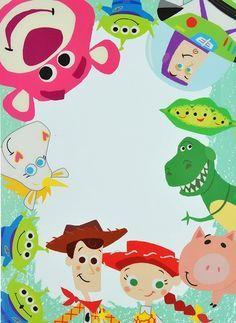 Children's Spaces | Patterns for Babies | Art Print | Illustration | Poster | Decoração Infantil | Padronagem para Bebês | Wallpaper | Ilustração para Impressão   #Kids Ilustración Toy Story