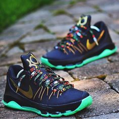 "Nike KD 8 ""Watch the Throne"" via @solesnj"