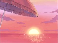 Find images and videos about gif, anime and beach on We Heart It - the app to get lost in what you love. Aesthetic Images, Retro Aesthetic, Aesthetic Anime, Anime Gifs, Anime Art, Illustration Manga, Old Anime, Animation, Anime Scenery