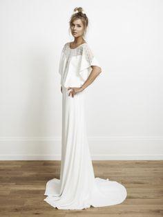 Rime Arodaky - Elin - Collection 2014 - Robe de mariee sur mesure Paris - La mariee aux pieds nus  - Credit photos Jonas Bresnan