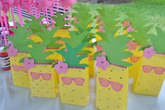 Pink Flamingo and Pineapple Party Ideas