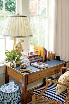 Small Space Organizing Tips: At the Desk
