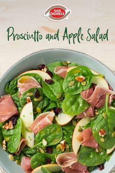 Easy Salads, Summer Salads, Vegetarian Recipes, Cooking Recipes, Healthy Recipes, Healthy Snacks, Healthy Eating, Soup And Salad, Summer Recipes