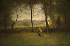 Wood Gatherers: An Autumn Afternoon (1891) | George Inness