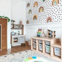 TROFAST white, green, Storage combination with boxes, cm. Buy online or in-store! Loft Playroom, Montessori Playroom, Toddler Playroom, Playroom Design, Kids Room Design, Playroom Decor, Baby Room Decor, Nursery Room, Kids Bedroom