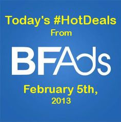 Today is #NationalPancakeDay at IHOP, get a free short stack from 7am - 10pm!     Also, shop our #HotDeals list for more awesome finds!    www.bfads.net