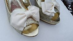 Check out this item in my Etsy shop https://www.etsy.com/listing/258756401/shoe-clips-wedding-shoe-clips-bridal