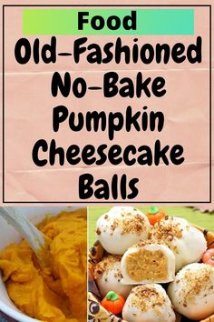 Baked Pumpkin, Pumpkin Recipes, Fall Recipes, Holiday Recipes, No Bake Pumpkin Cheesecake, Thanksgiving Desserts, Fall Desserts, Dessert Recipes, Truffles