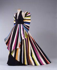 "1982, Italy - Evening dress ""Serpentine"" by Roberto Capucci - Organza"