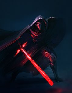 Kylo Ren sketch for May The Fourth Star Wars Day by Noe-Leyva.deviantart.com on @DeviantArt