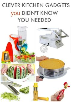OMG these kitchen gadgets are AWESOME!!!! Need them all!!!