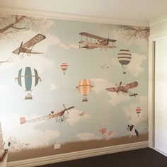 Little Hands wallpaper – Amelia Earhart III Room Little Hands Wallpaper, Kids Room Wallpaper, Bathroom Wallpaper, Wall Wallpaper, Baby Bedroom, Baby Boy Rooms, Baby Room Decor, Bedroom Kids, Kids Bedroom Accessories