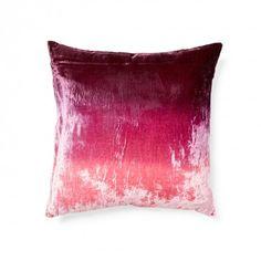 Ombre Velvet Pillow  #exclusive