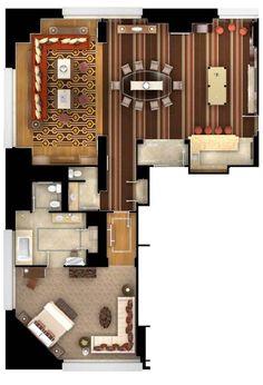 Bellagio Pool Table Suite Las Vegas Suites Pinterest Las Vegas - Bellagio pool table