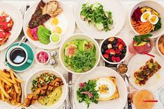 New York City Guide by Ashley Hodges // Ashley terk // jack's wife freda // NYC food // best lunch spots in NYC Restaurants In Nyc, Brunch Nyc, Brunch Spots, Smoked Salmon Pizza, Jacks Wife Freda, Manhattan, New York Bagel, Fried Chicken And Waffles, Mung Bean