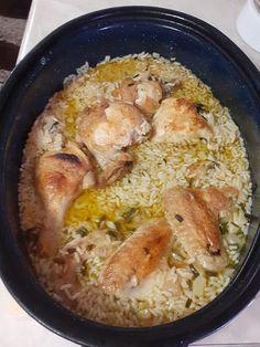 Κοτόπουλο με ρύζι στον φούρνο !!! ~ ΜΑΓΕΙΡΙΚΗ ΚΑΙ ΣΥΝΤΑΓΕΣ 2 Greek Recipes, Paella, Grilling, Pork, Meat, Chicken, Ethnic Recipes, Rice, Bulgur