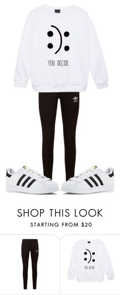 """"""""""" by sydthekyd01 on Polyvore featuring adidas Originals and adidas"""