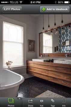 could be fun for boys bathroom. Bathroom lights