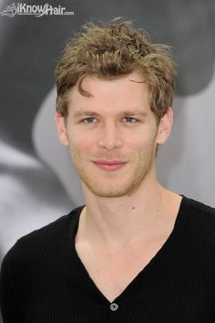 Joseph Morgan aka the beautiful and super sexy Klaus. He is an amazing actor... easy on the eyes too ;) I mean look at those dimples! ~ The Vampire Diaries