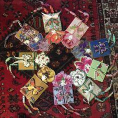 Ronde de fleurs - Nadine Levé - lejournaltextile