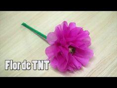 Flor de TNT - passo a passo #2 - YouTube