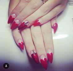 #stiletto #heart #red #sparkles