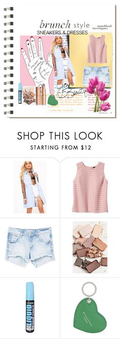 """Мама мене прожене!"" by lorena-l ❤ liked on Polyvore featuring Koo, Banana Republic, MANGO, Stila, Forever 21, Aspinal of London, pretty, hair, fashionset and Loren"