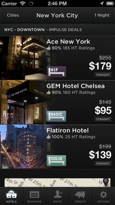 Hotel Tonight: an app to book last-minute hotel stays