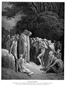 The Gluttons - Gustave Dore