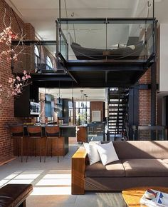 """3,886 Me gusta, 15 comentarios - db - design bunker (@designbunker) en Instagram: """"How about this for an #interior by Tom Kundig Architects! #architect #architecture #openplan…"""""""