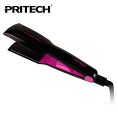 New PRITECH Brand Electric Tourmaline Hair straightener Wide Plate Straightening Irons Styling Tools Free Shipping