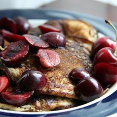 Bananas + Eggs + Seasoning = Pancakes! Grain-free, dairy-free, gluten-free, sugar-free.