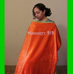 Orange+Crush+by+MommyzBIB+on+Etsy,+$18.50