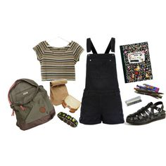 """Grade School."" by hunkulez on Polyvore"