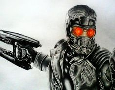 """Check out new work on my @Behance portfolio: """"starlord"""" http://on.be.net/1fBKuWK"""