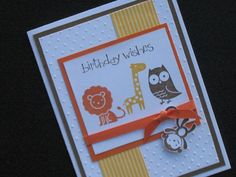 Childrens' Animal Birthday. $3.00, via Etsy.