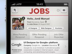 JOBS profile full screen by Jordi Manuel
