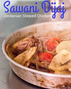 27 best arabic food images on pinterest jordanian food arabic sawani dijaj jordanian stewed chicken is so easy to make this one pot chicken dish can be made ahead of time read recipe by baconismagic forumfinder Image collections