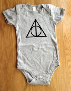 Deathly hallows onesie! More baby and mommy matching outfits!
