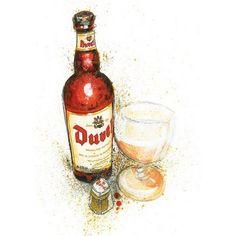 Duvel Vintage 70s Beer Mat #beer #coaster   Beer Ads ...