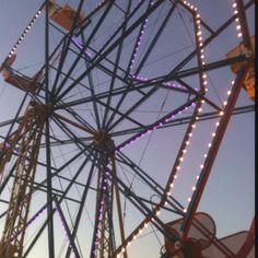 Old Ferris Wheel in Newport Beach Ca.
