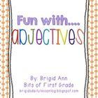 Fun with adjectives! This small packet includes the following:  Page 1= Students describe an ice cream cone Page 2= Students describe a monster Pag...
