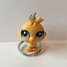 Littlest Pet Shop Keychain  Devon Drake  repurposed by ErinEtc