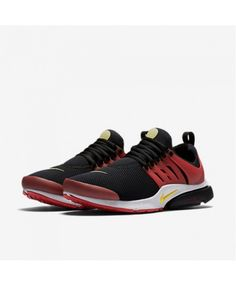 3953f626ce1 Air Presto Essential Black University Red White Tour Yellow Trainers