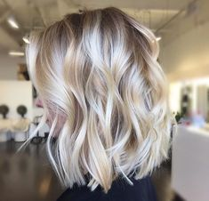 love this med lob cut