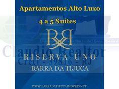Riserva Uno, apartamentos alto luxo na Barra da Tijuca, Rio de Janeiro