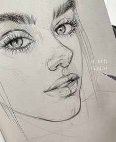 Magic artworks To see more sketches Which one is the most beautiful Artis Girl Drawing Sketches, Art Drawings Sketches Simple, Sketch Painting, Pencil Art Drawings, Realistic Drawings, Cute Drawings, Drawing Step, Art Du Croquis, Art Sketchbook